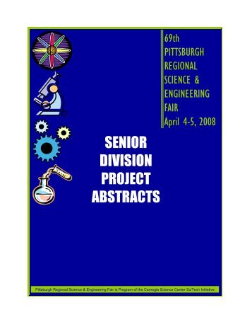 SENIOR DIVISION PROJECT ABSTRACTS