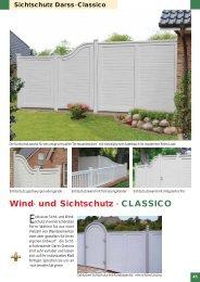 Wind- und Sichtschutz - CLASSICO