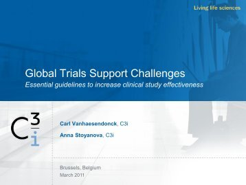 Global Trials Support Challenges