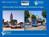 SEStran Real-Time Passenger Information Project