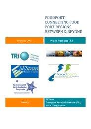 FOODPORT CONNECTING FOOD PORT REGIONS BETWEEN & BEYOND