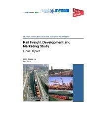 Rail Freight Development and Marketing Study