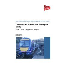 Levenmouth Sustainable Transport Study