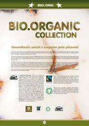 BIO.ORG Consciência social e respeito pelo planeta!