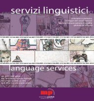 Catalogo servizi linguistici professionali - Noimpresa