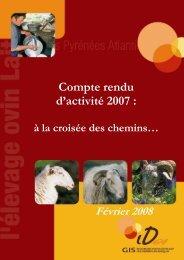 Compte rendu d'activité 2007