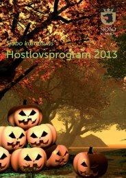 Höstlovsprogram 2013