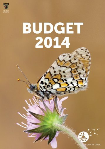 Budget 2014 - Sjöbo kommun