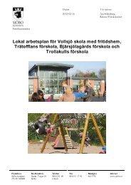 Trätofflans förskola Bjärsjölagårds förskola och Trollakulls förskola