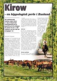 Læs artikel (PDF) - Ridehesten.com