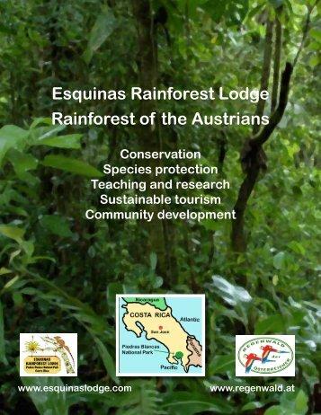 Esquinas Rainforest Lodge Rainforest of the Austrians