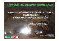 PROCEDIMIENTO DE CONSTRUCCIÓN Y MATERIALES EMPLEADOS EN SU EJECUCIÓN