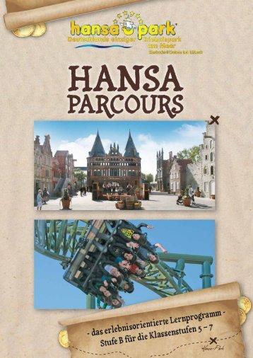 Page 1 Page 2 Herzlich willkommen im HANSA-PARK! Auf eurem ...