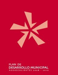 Plan de Desarrollo Municipal - Municipio de Aguascalientes
