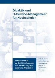 Didaktik und IT-Service-Management für Hochschulen