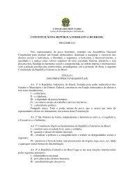 Constituição Federal - Congreso de la República del Perú