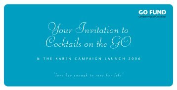 Your Invitation to Cocktails on the GO