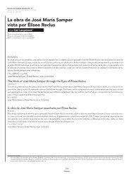 La obra de José María Samper vista por Élisee Reclus society revoluciones
