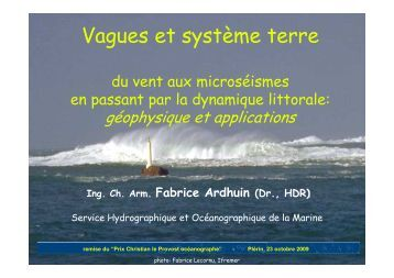 Vagues et système terre
