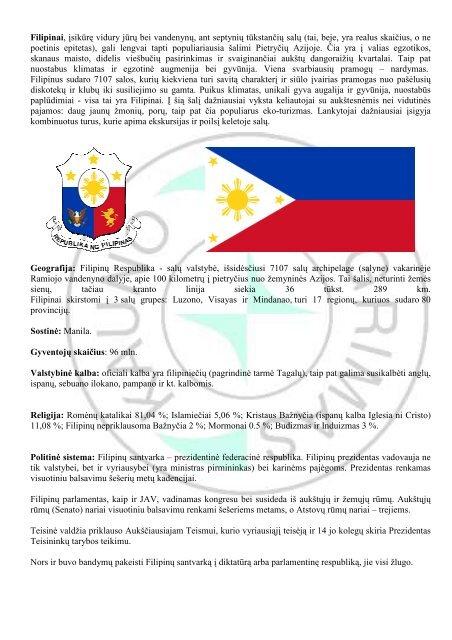 filipinų sveikatos pasirinkimas ir prekybos inc)