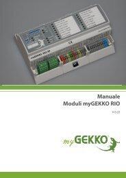 Manuale Moduli myGEKKO RIO