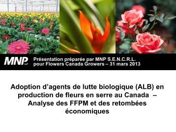 Lutte biologique - Flowers Canada Growers