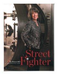 Street Fighter: Sheila C. Bair - Women's Resource Center