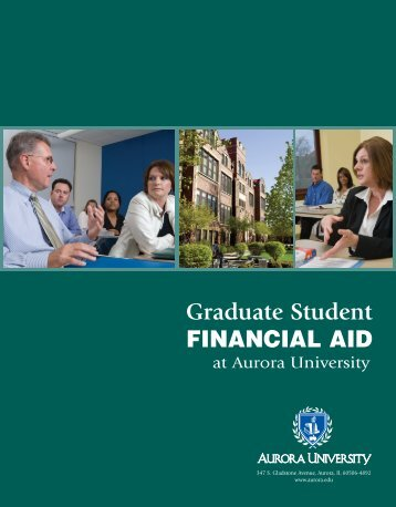Graduate Student FINANCIAL AID
