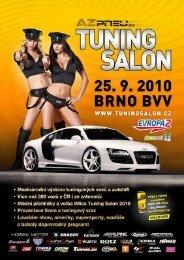 AZ pneu Tuning Salon 2010