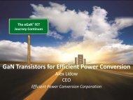 GaN Transistors for Efficient Power Conversion