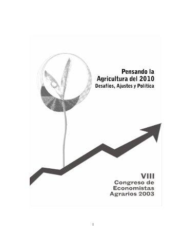 1 - Asociación de Economistas Agrarios de Chile A.G.
