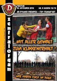 Zentralorgan - Ultras Dynamo