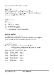 Peter Weiss Die Verfolgung und Ermordung Jean ... - deutschkurse.ch