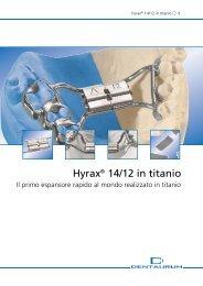 Hyrax 14/12 in titanio