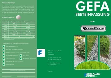 download - GEFA Produkte Fabritz GmbH