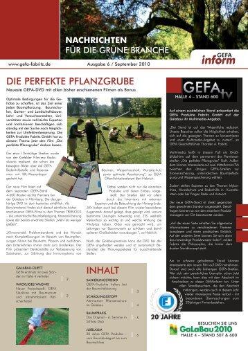 inform - GEFA Produkte Fabritz GmbH