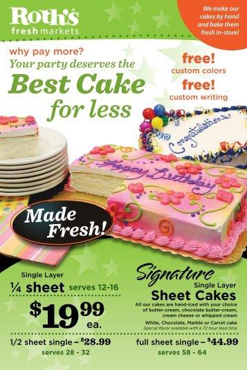 Best Cake - Roth's