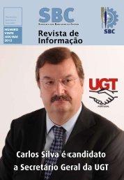 Carlos Silva é candidato a Secretário Geral da UGT