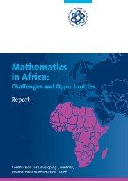 Mathematics in Africa