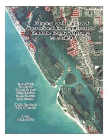 Planning for the Future of Recreational Boating ... - Florida Sea Grant