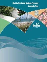 2009-2013_fsgstratpl.. - Florida Sea Grant