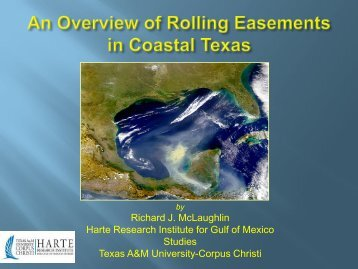 Rolling Easements - Florida Sea Grant