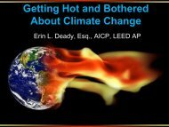 Getting Hot and Bothered About Climate Change