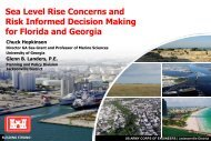 Everglades Restoration Climate Change ... - Florida Sea Grant