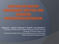 Uniform Mitigation Assessment Method and ... - Florida Sea Grant