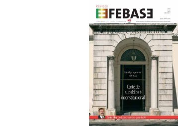 Revista FEBASE 17 de julho 2012 - Sindicato dos Bancários do Norte