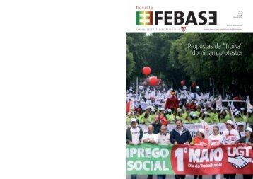 Revista FEBASE 17 de Maio 2011 - Sindicato dos Bancários do Norte