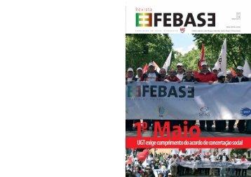 Revista FEBASE 15 de maio 2012 - Sindicato dos Bancários do Norte