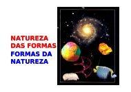 NATUREZA DAS FORMAS FORMAS DA NATUREZA