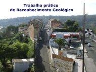 Trabalho prático de Reconhecimento Geológico